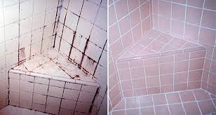 with this trick you can clean your bathroom tiles and them