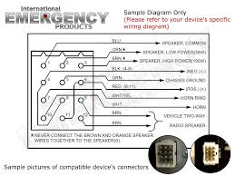 12 pin connector plug for federal signal smart siren ss2000 ss