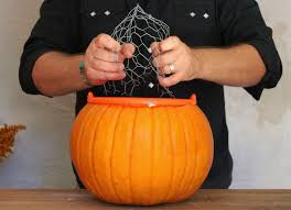 it begins with a perfect pumpkin the cavender diary chciken wire is the trick florists use for arrangements
