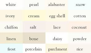 choosing a lshade 50 shades of white paint how to choose new perspective painting