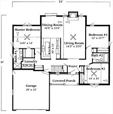 Jacobsen Mobile Home Floor Plans by 1600 Sq Ft House Plans 1600 Square Feet 3 Bedrooms 2 Batrooms 2