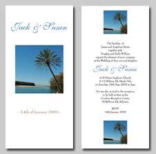 island wedding invitations stationery