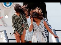 up skirt malia obama up s irt when she was arriving from plane