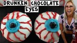 drunken chocolate eyeballs tipsy bartender youtube