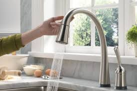 kitchen touch faucet delta touch kitchen faucet visionexchange co