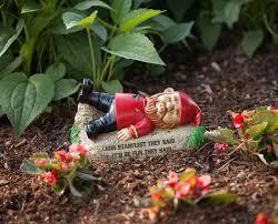 trek garden gnomes where no lawn ornament has before