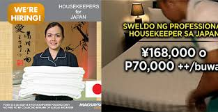 hiring a housekeeper how to apply p70 000 monthly salaries for housekeeper job in