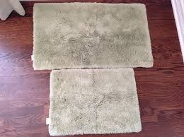 Restoration Hardware Bath Rugs Restoration Hardware Bath Rugs With 2 Light Green