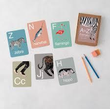 a z animal alphabet flash cards abc flash cards animal
