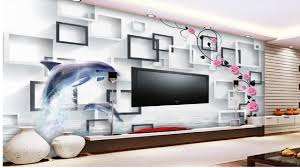 wallpapers for home interiors amazing top 20 3d wallpaper living room wallpaper ideas youtube
