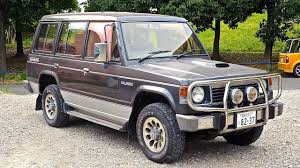 mitsubishi japan 1990 mitsubishi pajero turbo diesel 4x4 usa import japan auction