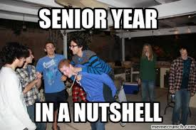Senior Year Meme - image jpg