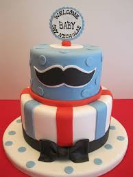 baby shower mustache cake little man baby shower cakes