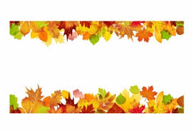 thanksgiving leaf borders clip happy thanksgiving