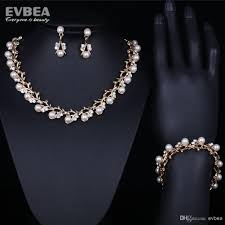 freshwater pearl necklace jewelry images 2018 pearl necklace bracelet set natural 6 7mm pearl jewelry set jpg