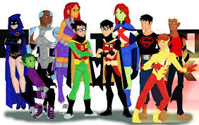 young halloween background young justice and titans heading to new streaming service dhtg