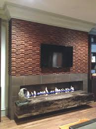 modern corner gas fireplace designs interior stone electric