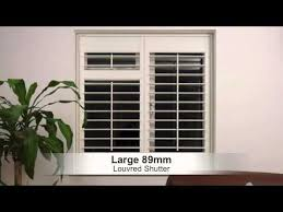 Sizing Blinds Choosing The Right Size Louvre Blade Or Slat For Your Interior