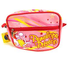 wacky races penelope pitstop wacky races make up bag wash bag pink cat