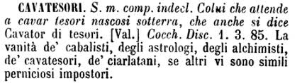dizionario cavatesori