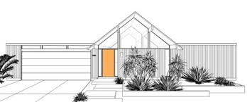 eichler home plans a brand new eichler home now it s possible design milk