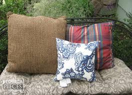 Pillow Store Diy Outdoor Pillows On A Budget Prodigal Pieces