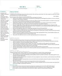 recruiting manager resume template 54 manager resumes in pdf free premium templates