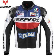 motorcycle racing jacket brand duhan motorcycle jackets moto gp repsol motorbike racing