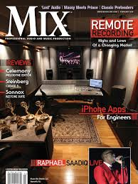 mix magazine march 2010 digital audio audio engineer