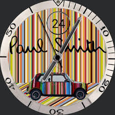 pul smith paul smith mini cooper stripes watchfaces for smart watches