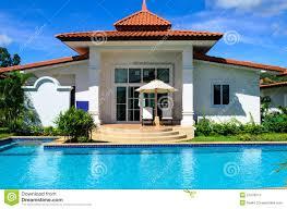 dream house dreams house with pool stock image image of neighborhood 27078013