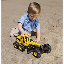 tonka classic steel toughest road grader construction toy www