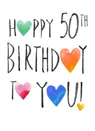 funny birthday cards 50th birthday cardfool free postage included