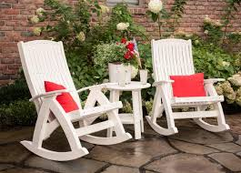 Luxcraft Outdoor Furniture by Luxcraft Poly Comfort Rocker