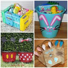 ideas for easter baskets for toddlers unique easter basket ideas for kids crafty morning