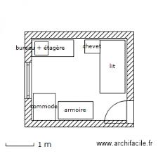 plan chambre bébé chambre enfant plan 1 pièce 10 m2 dessiné par bettyboop027