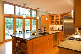 douglas fir kitchen cabinets brazilian cherry wood floors and vertical grain douglas fir for
