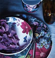 sainsburys kitchen collection sneak preview the midnight bloom collection sainsbury s home