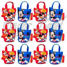 mickey mouse gift bags 12 pcs disney mickey mouse candy bags mini coin purses party
