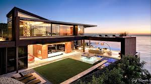 modern luxury mansions in 4k ultra hd architectural style