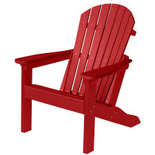 Recycled Plastic Adirondack Chair Chair Design And Solid Resin For Outdoor Red Plastic Adirondack