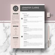Resume Sample Multiple Position Same Company by Resume Templates Hired Design Studio
