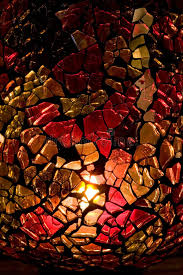 Stained Glass Vase Homemade Stained Glass Vase Stock Photo Image 3789838