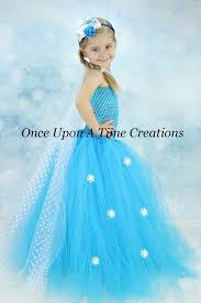 Halloween Costume Polka Dot Dress Elsa Inspired Frozen Princess Tutu Dress Polka Dot Sheer Tulle