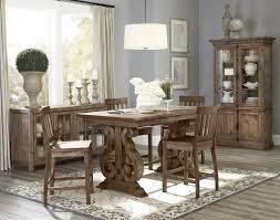 High Dining Room Tables World Menagerie Devereaux Rectangular Counter Height Dining Table