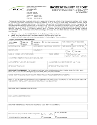 template incident report form home decorating ideas