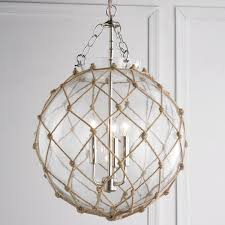 nautical kitchen lighting fixtures net glass sphere chandelier chandeliers globe and chains