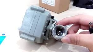 how normally closed motorized ball valves works youtube