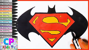 logo of batman and superman coloring pages 34 batman and superman