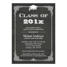 formal invitation formal graduation invitations announcements zazzle